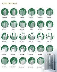 Shower Seals For Glass Doors Glass Shower Door Seal Ds Glass Shower Door Sweep