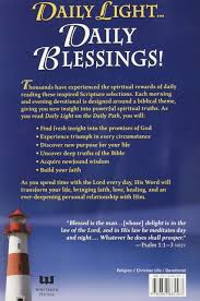 daily light devotional anne graham lotz daily light on the daily path bagster samuel 9780883685563 amazon
