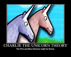 Unicorn Memes - pink and blue unicorns motivational poster by deecat98 on deviantart