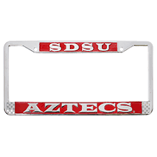 sdsu alumni license plate frame shopaztecs sdsu aztecs license plate frame