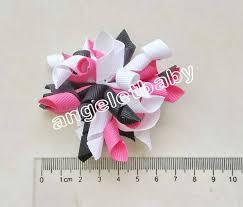 korker ribbon 2 pcs 2 5 bows flower corker hair bobbles barrettes korker ribbon