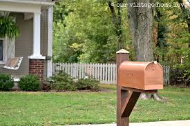 our vintage home love mailbox ideas