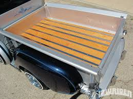 wooden truck bed 1951 chevrolet 3100 pickup lowrider magazine