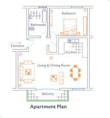one bedroom apartment floor plans studio apartment floor plan