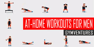 home work out plans at home workouts for men 10 muscle building workouts