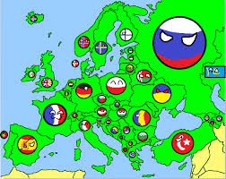 europe map by country maps for mappers countryball style thefutureofeuropes wiki