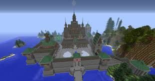 Minecraft Castle Floor Plan Arendelle Castle From The Movie Frozen Pictures Feed The Beast