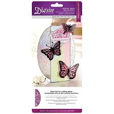 crafters companion diesire create a card metal die butterfly