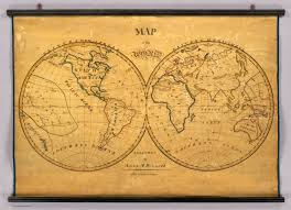 Blank Map Of Eastern Hemisphere by Map Of The World David Rumsey Historical Map Collection