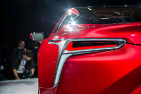 2015 lexus rc debuts at new and stunning lexus lc 500 debuted at naias 2016