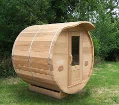 Backyard Sauna Plans by Barrel Saunas Canada Outdoor Sauna Kits