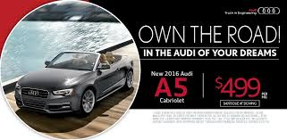 audi a5 lease specials 2016 a5 cabriolet lease special island ny audi of