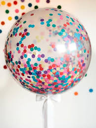 big plastic balloons how to make a confetti balloon how tos diy