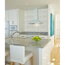 Fresh Water Mother Of Pearl Shell Mosaic Tile Kitchen Backsplash - Seashell backsplash