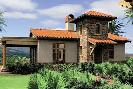 Mediterranean Style House Plan 1 Beds 1 Baths 972 Sq Ft Plan 48