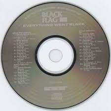 Black Flag Wasted Black Flag Everything Went Black Us Cd 1995 Sst Sst Cd 015