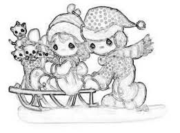precious moments christmas clipart 51