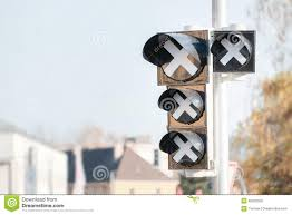 out of order traffic lights stock image image 46602355