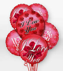 balloon arrangements chicago i you balloon bouquet in chicago il yera s lake view florist