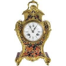 Mantel Clocks Antique French Boulle Mantel Clocks For Sale At 1stdibs