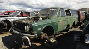 volvo station wagon 1998 junkyard find 1972 volvo 145 station wagon the truth about cars