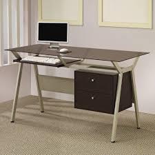 Desk Painting Ideas Office Office Glass Desk Best 25 Glass Desk Ideas On Pinterest