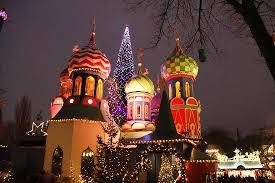 russian christmas picture of tivoli gardens copenhagen