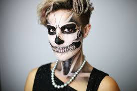 Skeleton Makeup For Halloween by Halloween Around The World