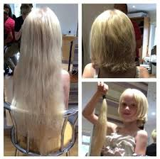 haircuts after donating hair this 6 year old chopped off nearly two feet of her rapunzel hair