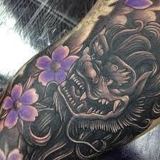 foo dog lion 45 menacing foo dog tattoos to protect you