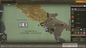 World War 2 Interactive Map by Entering Italy A World War Ii Online Interactive Released