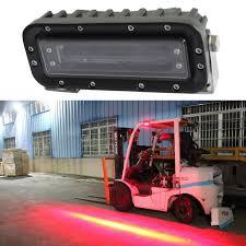 blue warning lights on forklifts 10 80v led forklift blue spot light working safety l fork truck