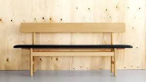 Outdoor Modern Bench 10 Easy Pieces Modern Wooden Benches With Backs Remodelista