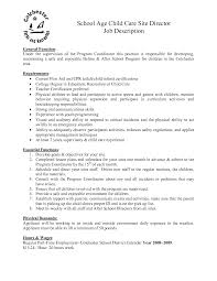 Infant Nanny Resume Child Care Responsibilities Resume Free Resume Example And