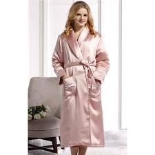 robe de chambre en satin pour femme robe de chambre femme polaire luxe lepeignoir fr