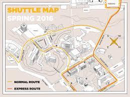 Arizona State University Map by Shuttle Fort Hays State University