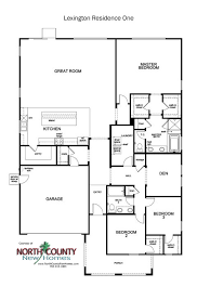 family home floor plans new homes in escondido county new homes