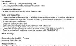 Sample Chemistry Resume by Medical Appeal Letter Sample Resumedoc