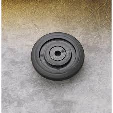 parts unlimited black idler wheel w bearing 0411668 snowmobile