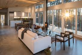 mm architect design a home shrouded in the dense forest of