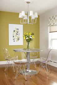 Acrylic Accent Table Acrylic Accent Table Dining Room Modern With Silver Chandelier
