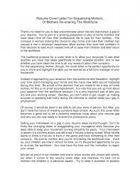 nursing cover letter reentering workforce resume template example