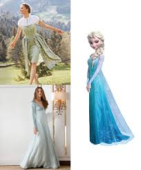 Authentic Halloween Costumes Adults Diy Halloween Costume Frozen U0027s Elsa Anna U2013 Sewing Blog