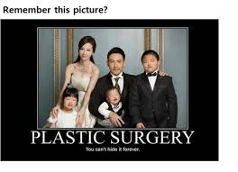 Family Photo Meme - remember this plastic surgery family photo meme it ruined this