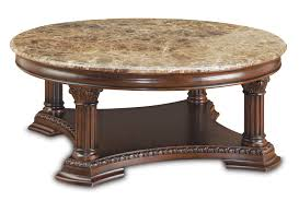 antique round coffee table antique and vintage round cocktail table with storage and carving