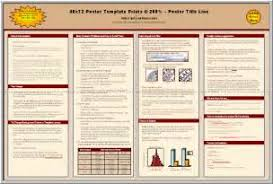 18 scientific poster template quadratic graphs a3 poster