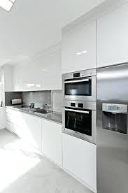 High Gloss White Kitchen Cabinets Gloss White Kitchen Cabinets Faced