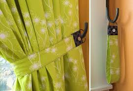 Tab Top Button Curtains Tab Top Panel Curtains With Button Accents Sew4home
