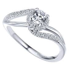 about diamond rings images 14k white gold 41cttw curved split shank halo diamond engagement jpg