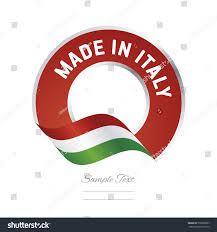 Italian And Mexican Flag Made Italy Flag Red Color Label Stock Vector 550992007 Shutterstock